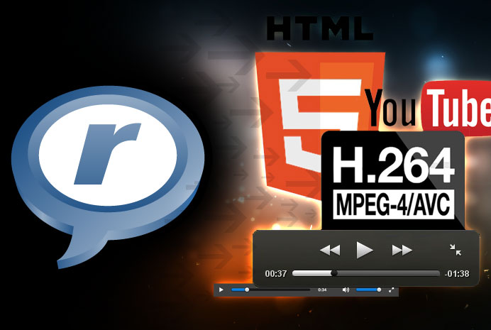 Convertir une vidéo Real Media en MP4