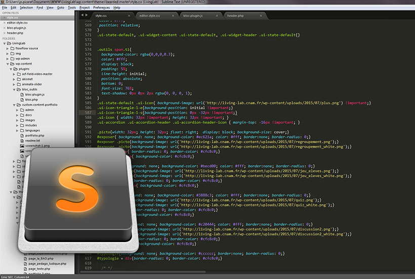 Migrer de Dreamweaver à Sublime Text 3