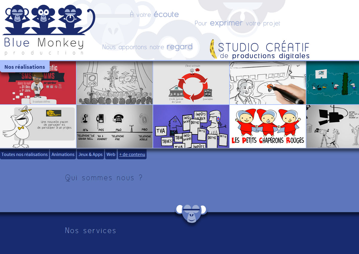 Blue Monkey Production