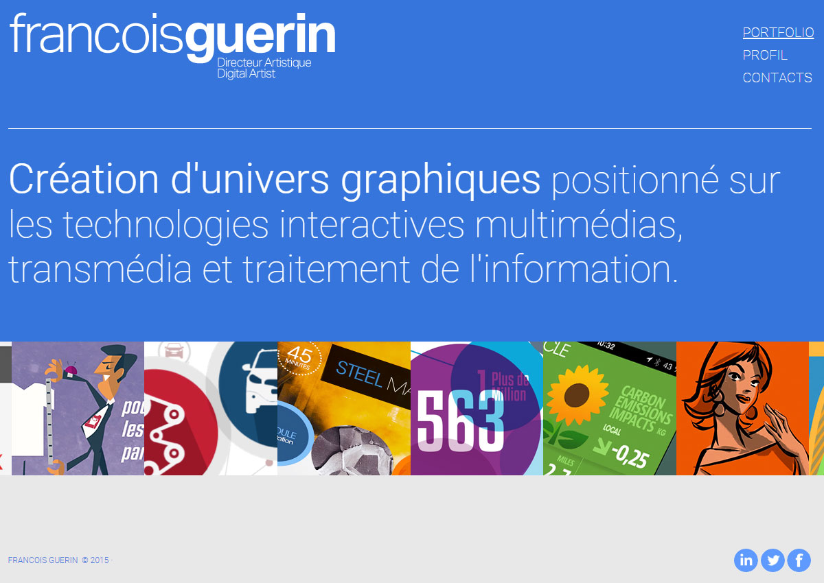 Francois-guerin.com responsive