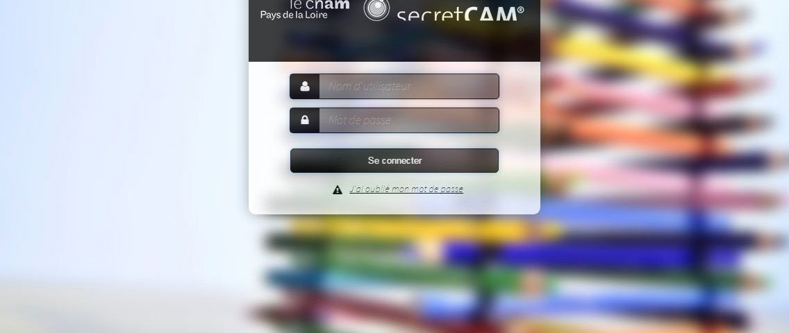 Interface Pedago pour le serious game SecretCam